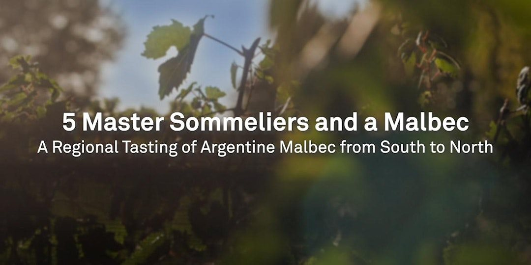 5 Master Sommeliers and A Malbec